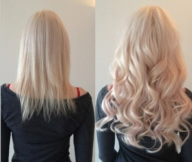 Before and after types of hair extensions thin medium hair to longer fuller hair pmusecretfo Image collections